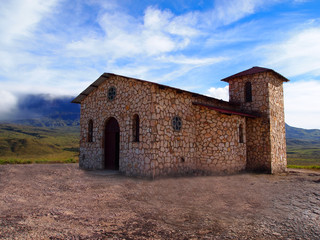 Hermitage of Santa Maria. Venezuela.  Gran Sabana