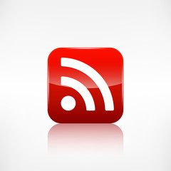 Rss icon, news symbol