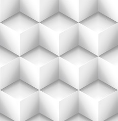Cubes background © vector_master