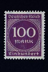 Briefmarke_100 Reichsmark