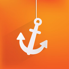 Anchor web icon