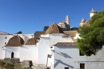 Church of Santo Domingo in Ibiza, Spain