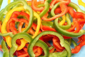 Sweet pepper, sweet vegetables