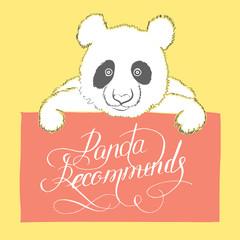 Cute panda.