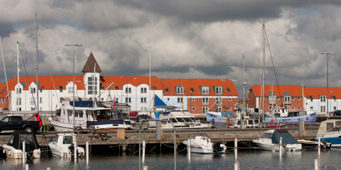 Strandby, small Danish town
