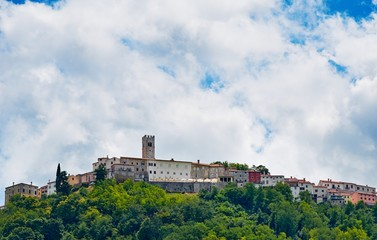 Motovun - Small town on the hill in Istria, Croatia.