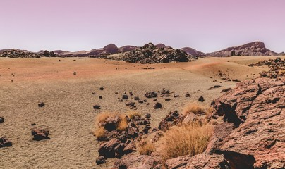 Desert of the Teide volcan, Mars similarity according to NASA