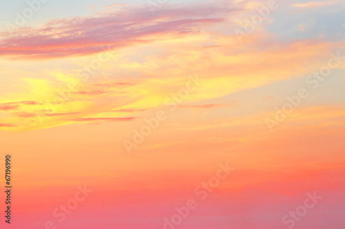 Tropical sunset background - 67196990