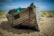 Old fishing boat. - 67197721