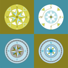 set of compasses