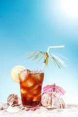 Iced sweet tea