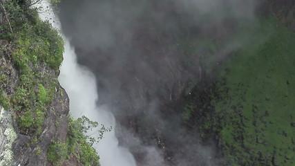 Waterfall Salto Ángel Airial Shot
