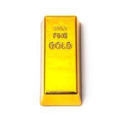 Gold bar or ingot
