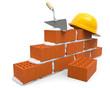 Ziegelsteine Hausbau