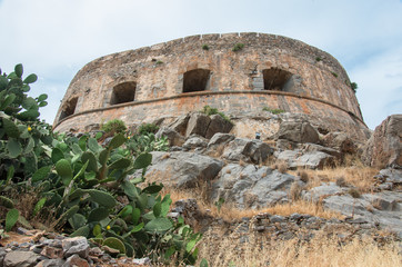 Spinalonga fortress, Crete, Greece
