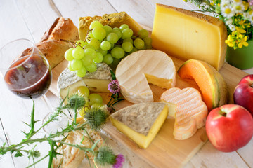 french cheese tray