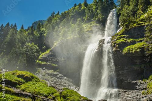 Papiers peints Cascades la reine des Alpes FRANCE