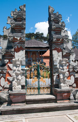 Balinese gate decoration