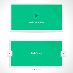 Website Slideshow template