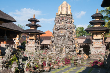 Balinese temple complex
