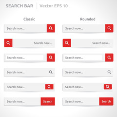 Search bar template
