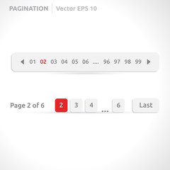 Pagination bars