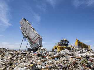 Modern Trash Disposal