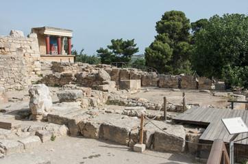 Knossos Minoan palace, Crete, Greece