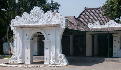 Entrance of Kraton, Cirebon