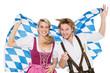 bayrisches Paar