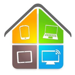 nouvelles technologies dans la maison