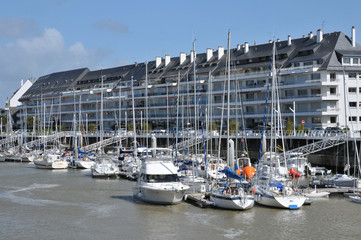 city of La Baule Escoublac in Loire Atlantique