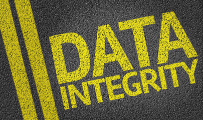 Data Integrity written on the road