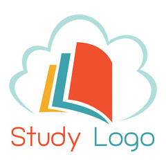 studying book logo
