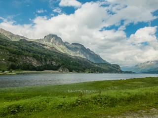 Laghetto al Maloja Pass