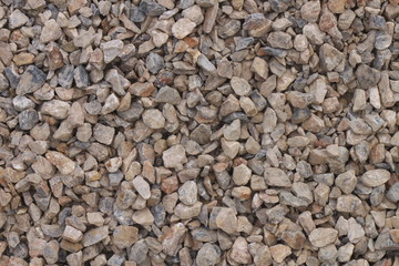 Texture of pebbles for construction