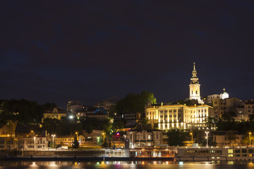 Belgrad At Night, Serbia