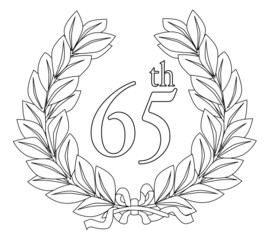 65th Laurel Wreath
