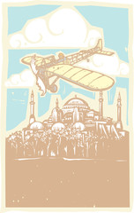Hagia Sophia Airplane Day