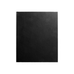Black book isolated on white #2
