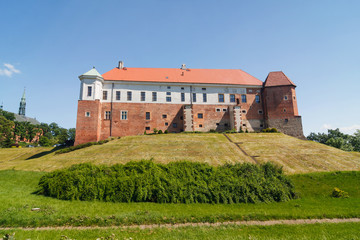 Castle in Sandomierz, Poland