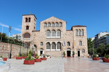 The Church of Saint Demetrius, or Hagios Demetrios