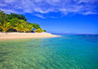 Leinwanddruck Bild - Hideaway Island--Beautiful tropical island in Vanuatu