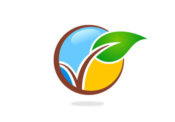 seed-plant-leaf-vector-logo