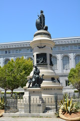 The Pioneers Monument - San Francisco City Hall
