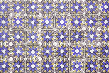 Stamped tiles