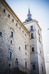 toledo alcazar fortress destroyed during the Spanish Civil War