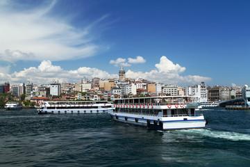 Bosporus, Turkey. Galata Tower