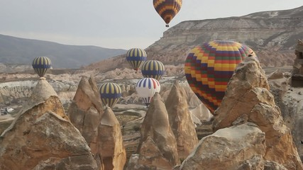 Hot Air Balloons and Rocks