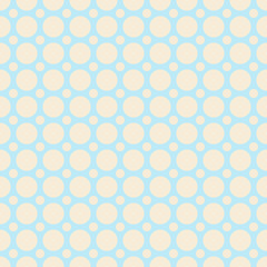 Yoga vector seamless pattern (tiling). Light blue and yellow